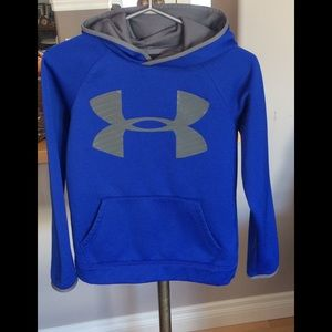 Under Armour cold gear hoodie. Youth Medium, GUC